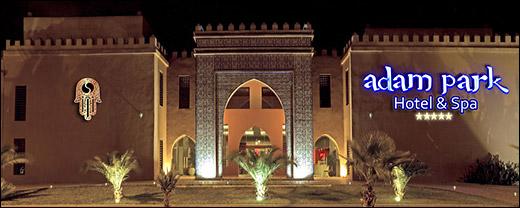 Adam Park Hotel Spa Marrakech Maroc